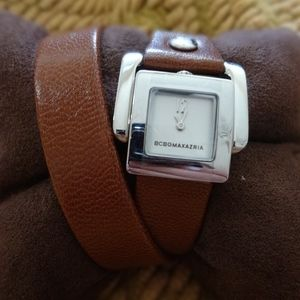 BCBG MAXAZRIA Arabesque Double Wrap Watch